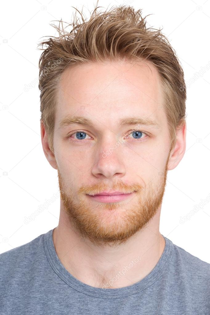 Hairstyle for man round face