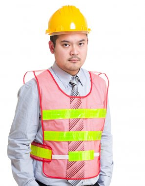 Serious engineer