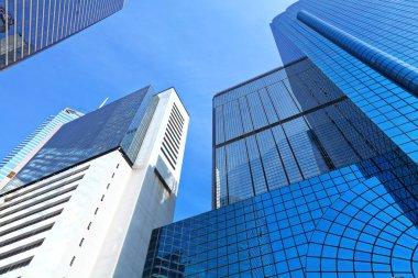 Skyscraper in Hong Kong stock vector