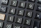 Černý kalkulačka