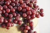 friss piros szőlő
