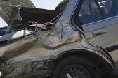 Fényképek sérült autó