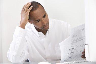 Man Doing Taxes