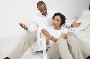 Couple Discussing Finances