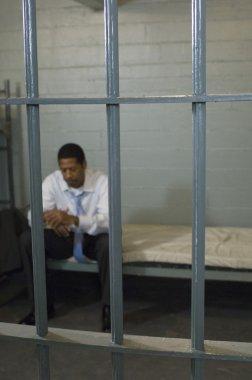 Criminal Sitting In Jail