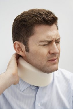 Patient With Severe Neck Pain