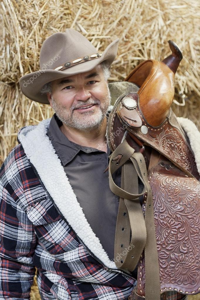 Father And Son Cowboys Stock Photos