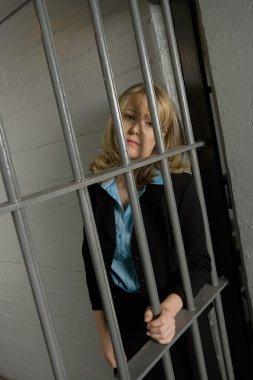Female Criminal In Jail