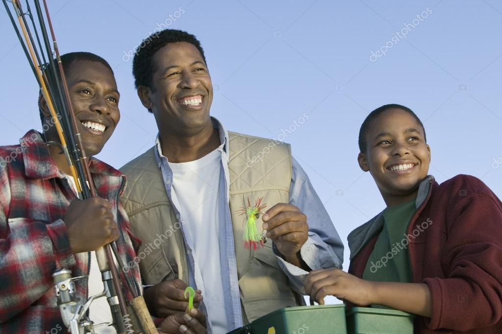 Men Going Fishing