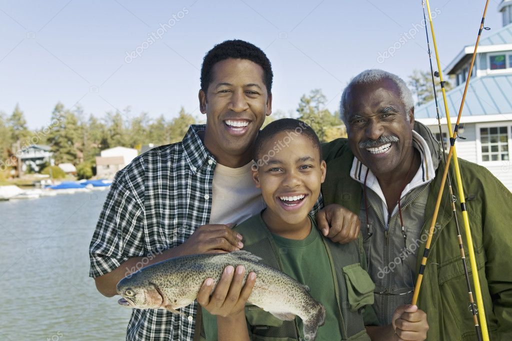 Family Trout Fishing