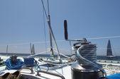 Fényképek A jacht csörlő