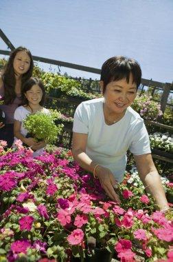 Women Shopping for Plants