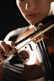 Fotografie Woman Playing Violin