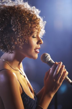 Jazz Singer Performing