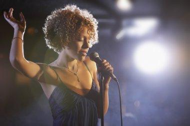 Jazz Singer Performing