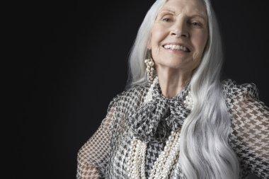 Senior grey hair Woman