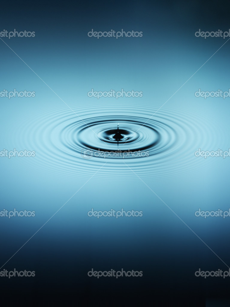 Ripple in water