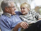 dědeček čtení pro dívky
