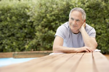 Man sitting at table