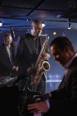Jazz Musicians Performing