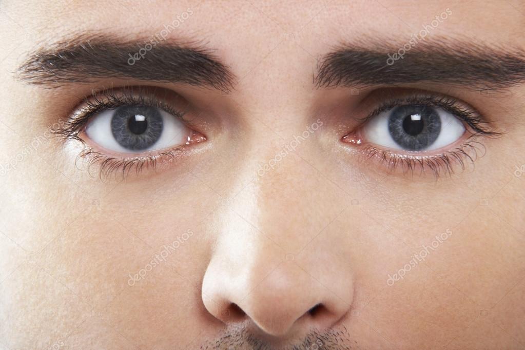 Fotos Ojos Azules Para Hombre De Ojos Azules Foto De Stock