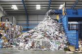 Fotografie odpadů recyklační stroje