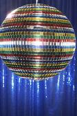 Fényképek multi-színes disco ball