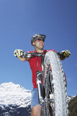 kerékpáros, lovas-hegység