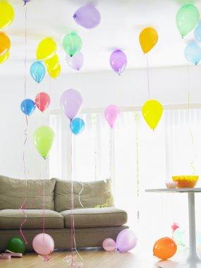 Room full of balloons