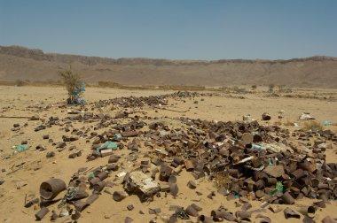 Garbage Dump in Desert
