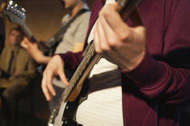 Guitarists Performing