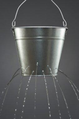 Water leaking from bucket