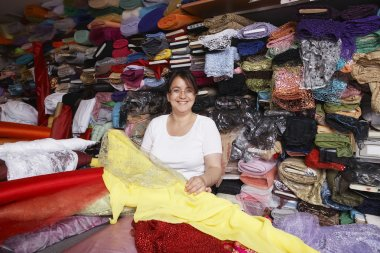 Fabric Store Worker