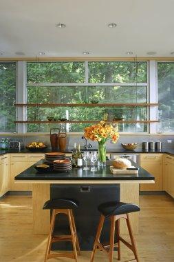 Retro styled kitchen