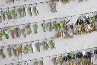 Keys on board