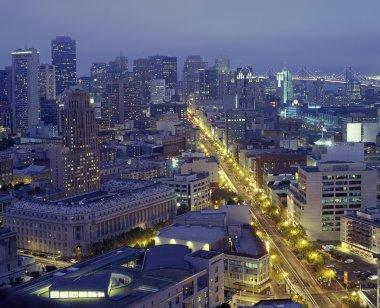 Cityscape San Francisco stock vector