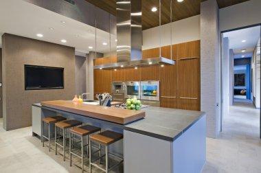 Panelled kitchen