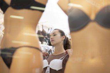 Two  mannequins with underwear
