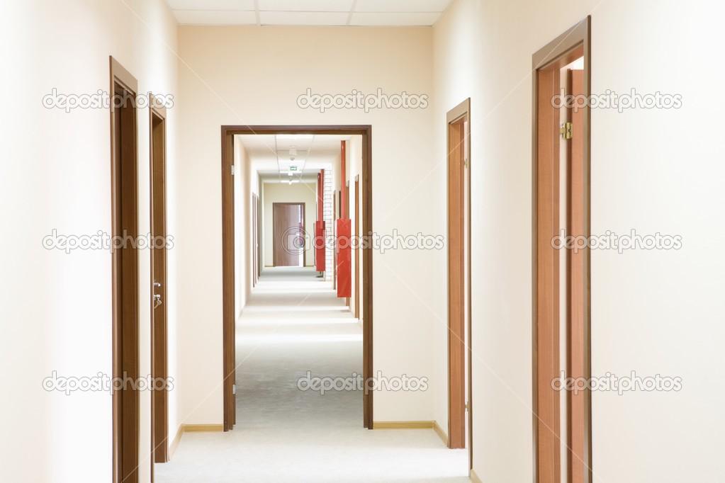 Corridor and door frame perspective u2014 Photo by londondeposit & Corridor and door frame u2014 Stock Photo © londondeposit #34013111