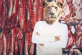 řezník s lví hlavou