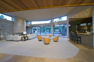 Spacious living interior