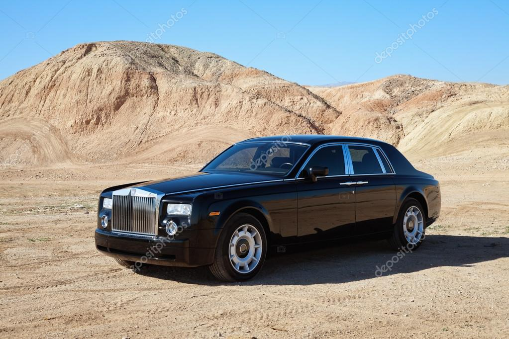 Rolls Royce car parked