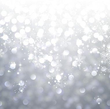 Silver textured background.