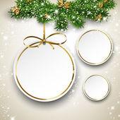 Fényképek karácsonyi labdák papír