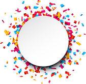 konfetti ünnepe háttér