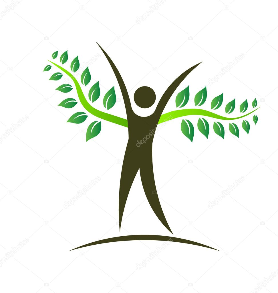 tree logo design element
