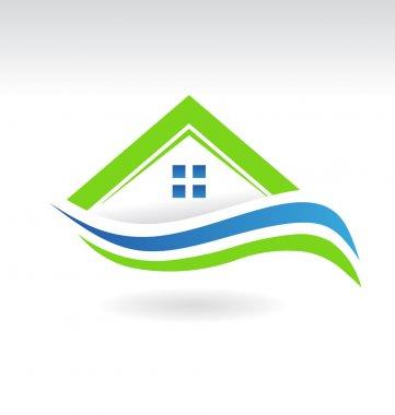 Modern Estate House Icon