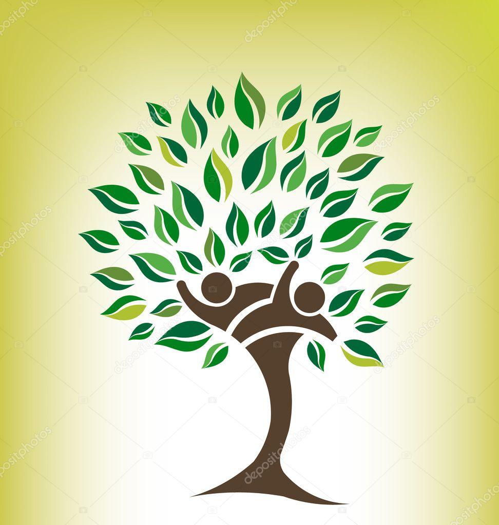 Friends Tree Logo