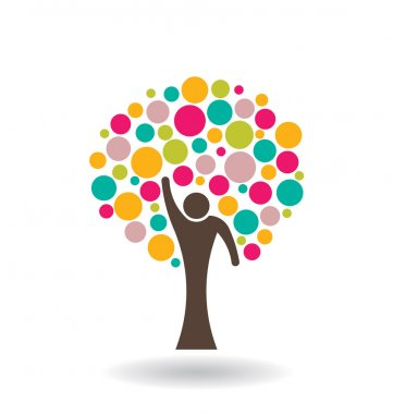 People Circle Tree Logo