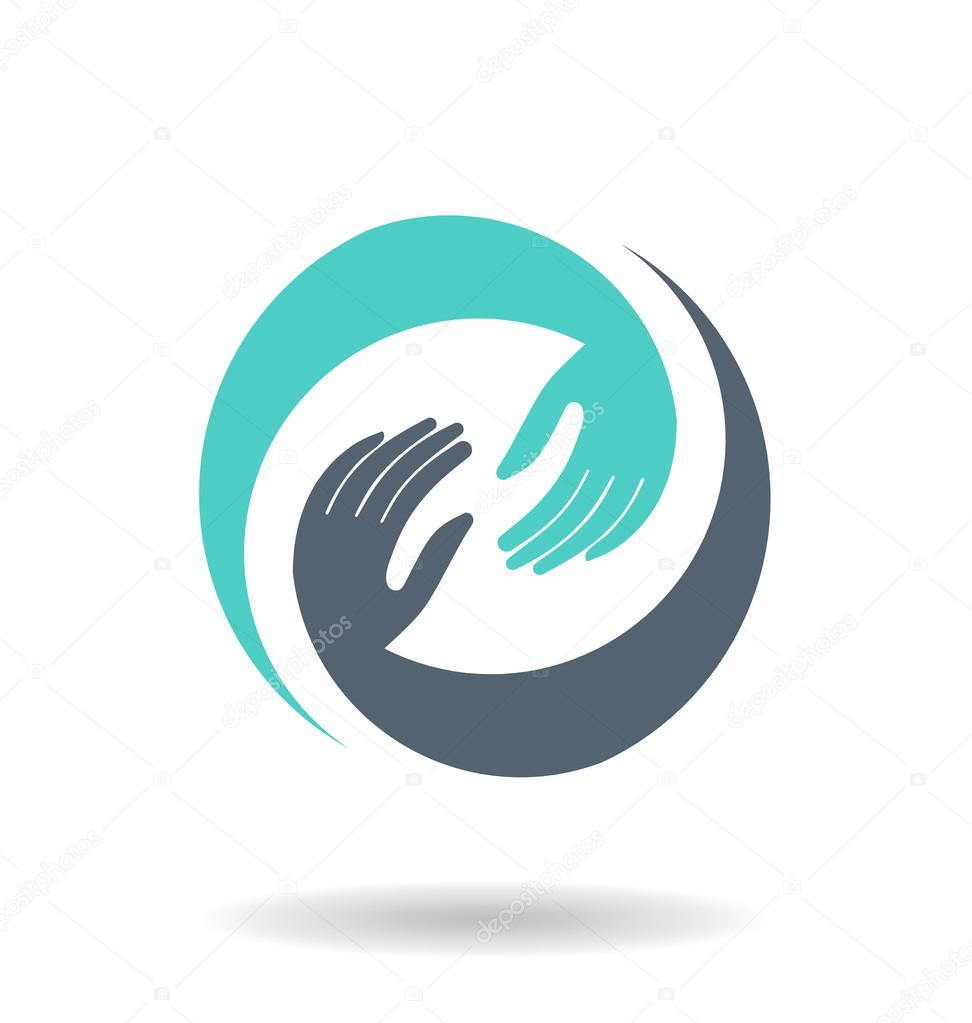 Vector Hands Deal Design Icon
